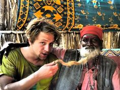 Tomáš Klus - on holiday in India