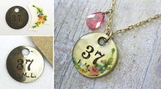 DIY Charm Necklace - Craft Tutorial | Living Locurto - Free Party Printables, Crafts & Recipes