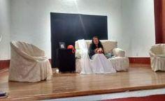 """En el marco del día internacional contra violencia hacia las mujeres, el Consejo Estatal de la Mujer y Bienestar Social lleva a los Municipios la Obra de Teatro denominada """"Soledad"""", que en esta ocasión la presentaron en el auditorio de Casa de Cult"""