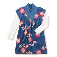 Nari Double Decker Dress | Tea Collection