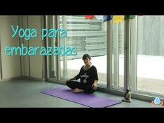 ▶ Clase completa de Yoga en español para embarazadas - Yogahora.com - YouTube