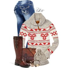 Cozy Winter, created by tmlstyle on Polyvore