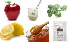 Maschera alla frutta per capelli grassi  - 50 gr di mela rossa  - 1 cucchiaio di yogurt magro naturale  - 1 cucchiaio di infusione di menta  - Qualche goccia di limone  - 1 cucchiaino di miele  - 1 cucchiaino di argilla bianca pura in polvere.  La mela è nota per le sue proprietà anti-ossidanti, lo yogurt è un ingrediente sebo regolatore, la menta ed il limone sono astringenti e anti-batterici, il miele è idratante e l'argilla bianca è estremamente purificante.