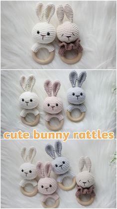 Crochet Toys Patterns, Amigurumi Patterns, Stuffed Toys Patterns, Baby Shower Themes, Baby Shower Gifts, Baby Shower Baskets, Wooden Teething Ring, Etsy Handmade, Handmade Gifts