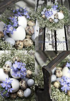 Galda dekori Lieldienām (Easter Centerpiece) | Kafijas krūze