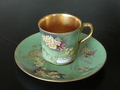 Coalport UK 1880. Tea cup in mint color