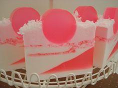 Coconut Bubble Gum Soap!