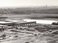 1971 Leidsenhage in aanbouw (foto vanaf ziekenhuis Antoniushove genomen)