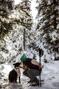 10 Essentials for snowshoeing with your dog -- courtesy of Tubbs Ambassador Becca Skinner
