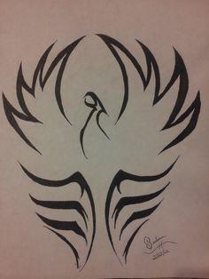 Tribal Phoenix by Wolf-Project on DeviantArt