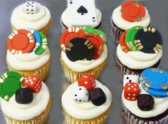 Take a gamble on these cupcakes! ;-)
