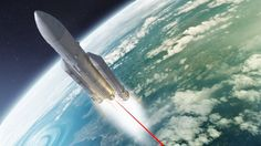 Russian scientists have proposed a novel way to accelerate a spaceship while in flight – firing a ground-based laser up its backside. The new technique uses a plasma flow caused by laser ablation to increase the exhaust efficiency of a traditional rocket propulsion system.