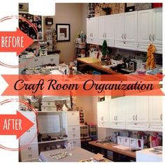 Is your craft room storage so cluttered you can't 'create'? These 3 tips helped one crafty person get her whole work space organized! | Organize 365