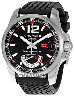 Chopard Mille Miglia Steel Black Rubber Mens Watch 168457-3001
