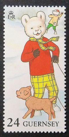 Reino Unido - El Osito Rupert-Tira comica infantil