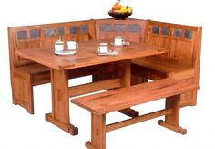 Sedona Corner Breakfast Nook Set Available At