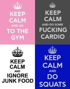 keep calm and..?