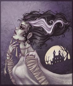 Frankenstein & Bride | Horror | Pinterest | Frankenstein ...