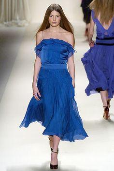 Chloé Fall 2005 Ready-to-Wear Fashion Show - Cameron Russell (OUI)