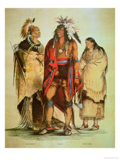 North American Indians Giclee Print
