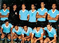 EQUIPOS DE FÚTBOL: SELECCIÓN DE URUGUAY contra Ecuador 06/07/1969