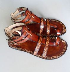Hey, I found this really awesome Etsy listing at http://www.etsy.com/listing/73242975/handcrafted-women-men-gladiator-sandals
