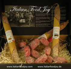 Delicious #Italian food: #salami for all occasions #Selected just for you in the purest #Italian #style #Italian #Food Joy www.italianfoodjoy.com www.italianfoodjoy.de