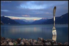 The Big Fork @ Vevey, Switzerland | Flickr: partage de photos!