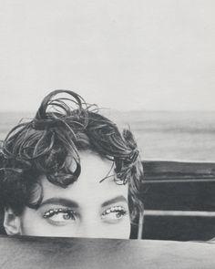 christy turlington, arthur elgort. Photography love