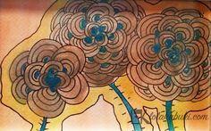 "COLECCIÓN ""RETALES"" | Lola Kabuki  #love #art #watercolor #paintings #illustration"