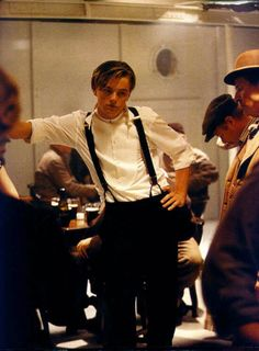 My favorite character in a movie:  Jack Dawson<3!