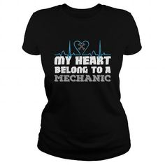 My Heart Belong To A Mechanic Great Gift For Any Mechanic Girlfriend Wife T Shirts, Hoodies. Check price ==► https://www.sunfrog.com/Jobs/My-Heart-Belong-To-A-Mechanic-Great-Gift-For-Any-Mechanic-Girlfriend-Wife-Black-Ladies.html?41382