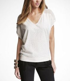 I love this top and its at Express...my favorite store!!