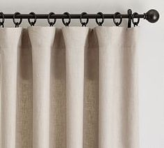 Shop belgian flax linen from Pottery Barn. Our furniture, home decor and accessories collections feature belgian flax linen in quality materials and classic styles. Grey Blackout Curtains, Dark Curtains, Cotton Curtains, Grommet Curtains, Drapery, Bedroom Curtains, Curtains For Long Windows, Silk Drapes, Curtains