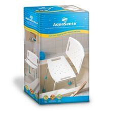 AquaSense Adjustable Bath Seat with Back
