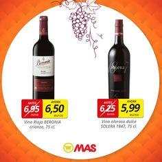 Hasta el 29 de octubre, oferta especial en vinos de González Byass, de la famosa bodega de Jerez Tío Pepe. Y además, podrás ganar una entrada doble para visitar las bodegas!  #ofertas #vinoJerez
