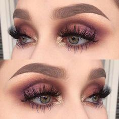 basico maquillaje makeup is part of eye-makeup - Maquillaje basico Maquillaje basico See it Pretty Makeup, Love Makeup, Makeup Inspo, Makeup Art, Basic Makeup, Makeup Style, Blue Eye Makeup, Skin Makeup, Burgundy Makeup