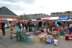Sunday Market in Amsterdam