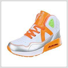 online retailer 2bd7d 2a57f High-Top Sneaker Damen-Schuhe High-Top Schnürer Schnürsenkel Ital-Design  Freizeitschuhe