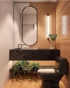 28 Bathroom Decor Ideas to Add a Dreamy Touch to Your Space Interior Design Living Room, Interior Decorating, Restroom Design, Bathroom Design Luxury, Toilet Design, Bathroom Inspiration, Interior Architecture, Bedroom Decor, Wall Decor