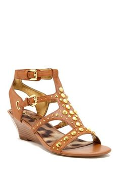GUESS Aidiana Wedge Sandal by Assorted on @HauteLook