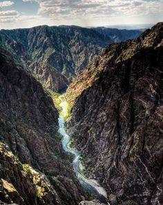 """A River Runs Through It,"" Black Canyon of the Gunnison National Park, western Colorado"