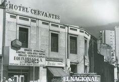 Hotel Cervantes, ubicado en la Avenida Urdaneta, Urbanización El Silencio. Caracas. En ese hotel vivió el escritor venezolano Julio Garmendia durante 27 años (ARCHIVO EL NACIONAL)