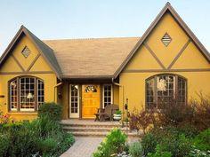 colores casa exteriores fachadas verde casas exterior paredes pinturas pintar mostaza pintadas amarillo bonitas cafeversatil ocre modernas colorpaints elegantes esta