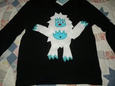 Yeti shirt for my Yeti Hunter...someone put this pic on Pinterest from a Flickr group - anyone know who?  I'd love to thank them and give them credit!