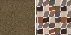 Left: Designtex Rumeli, Bronze Right: Architex Allandale, Copper