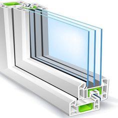 Benefits of Installing Double Glazed Windows! Fiberglass Windows, Pvc Windows, Casement Windows, House Windows, Tilt And Turn Windows, Australia House, Glass Supplies, Double Glazed Window, Sliding Doors