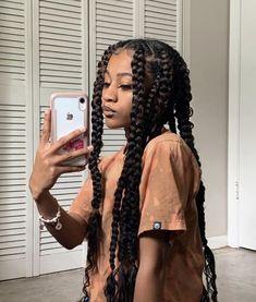 Black Girl Braided Hairstyles, Black Girl Braids, African Braids Hairstyles, Braids For Black Hair, Girls Braids, Hairstyle Short, Black Women Hairstyles, Curly Hair Styles, Natural Hair Styles