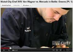 Nickel City Chef 2012 Video: Van Wagner vs. Mercado in Battle: Greens (Part 1)