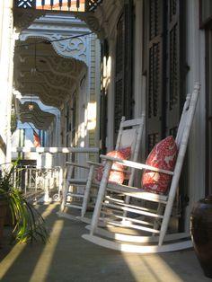 Algiers Point, New Orleans, LA  -porch